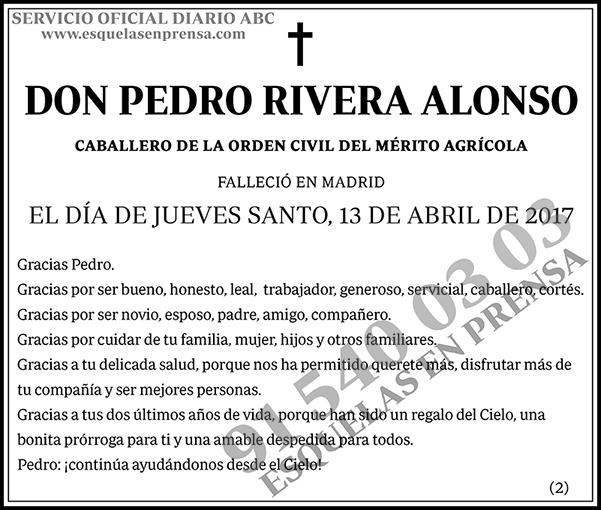 Pedro Rivera Alonso